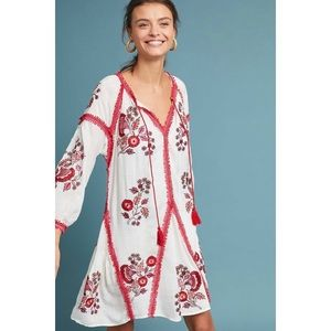 Hadley Embroidered Tunic Dress by Rana Gill